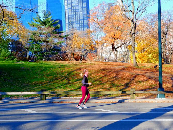 Running in New York