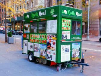 New York Street Food - waffle
