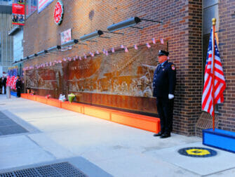 911 in New York - Memorial Wall