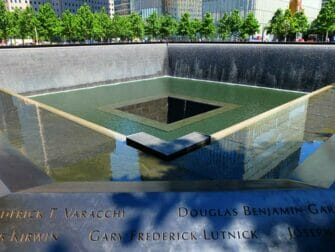 Difference between New York Explorer Pass and New York Pass - 911 Memorial