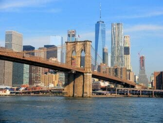 Difference between New York Explorer Pass and New York Pass - Brooklyn Bridge