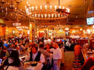 Carmine's Family Restaurant in New York
