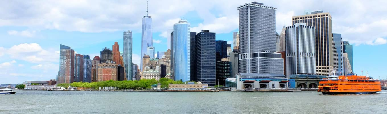 Boat tours in New York