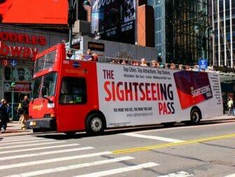 Multi City Discount Pass USA - Hop on Hop off Bus