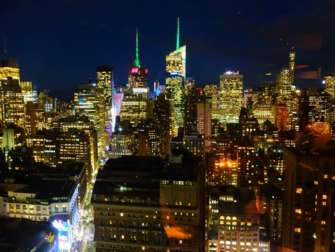 Restaurants in New York - View from GAONNURI