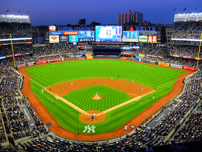 Schedule Sports Games in New York - NY Yankees
