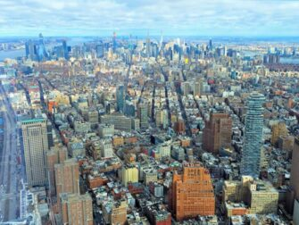Difference between New York Sightseeing Flex Pass and Sightseeing Day Pass - One World Observatory