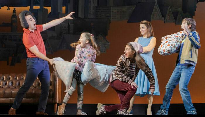 Mrs Doubtfire on Broadway Tickets - Pillow Fight