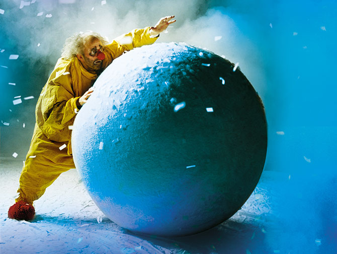 Christmas Shows in New York - Slava's Snowshow