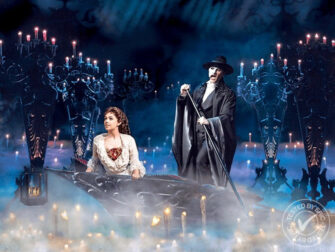 The Phantom of the Opera on Broadway Tickets Sailing