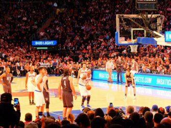 New York Knicks Tickets - Player ready to score