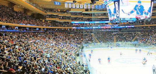 Rangers Hockey Game