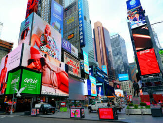Glee Tour in New York - Times Square