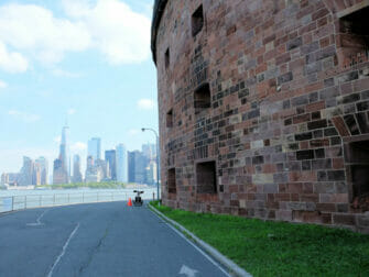 Governors Island in New York - Skyline