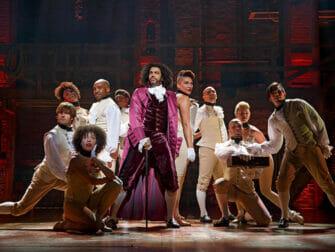 Hamilton on Broadway Tickets - The Company