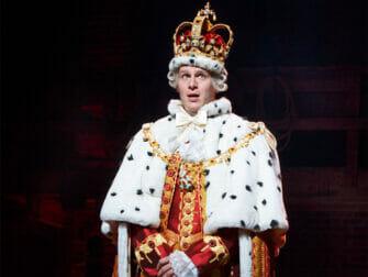 Hamilton on Broadway Tickets - The King