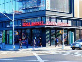 Lower East Side in New York - Essex Market