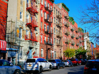 Lower East Side in New York - Fire Escapes