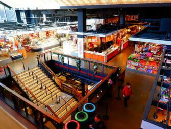 Lower East Side in New York - Inside Essex Market