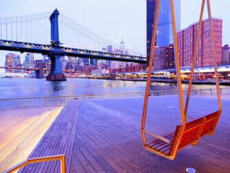 Lower East Side in New York - Pier 35