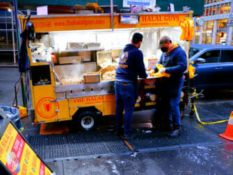 New York Street Food - Halal Guys Food Cart