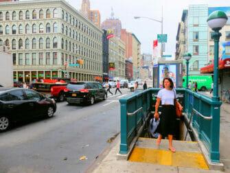 New York Subway - Canal Street