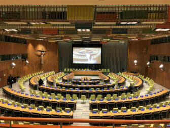 The United Nations in New York - Trusteeship Council Chamber