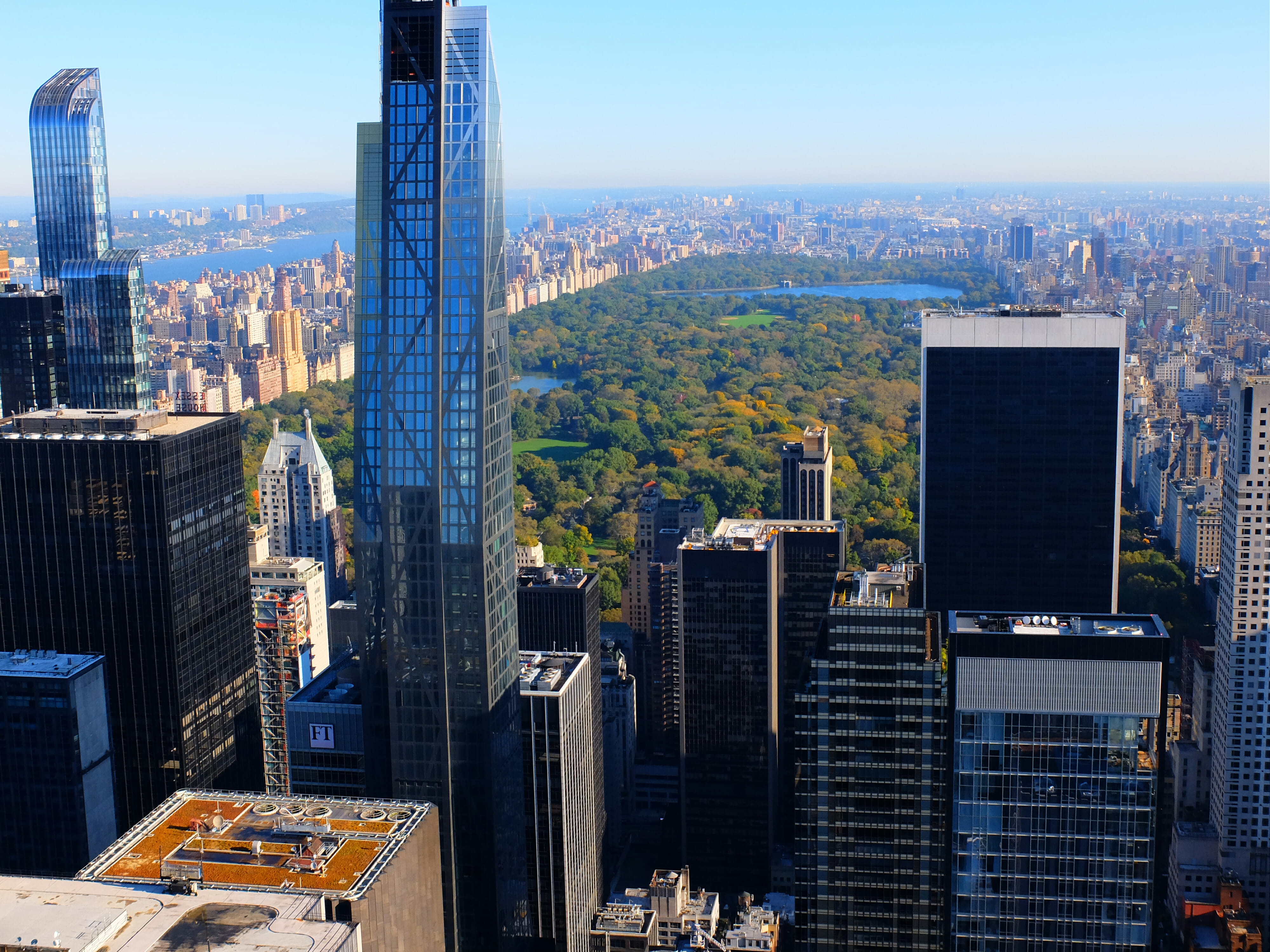A View from Top of the Rock – High Quality Wallpaper