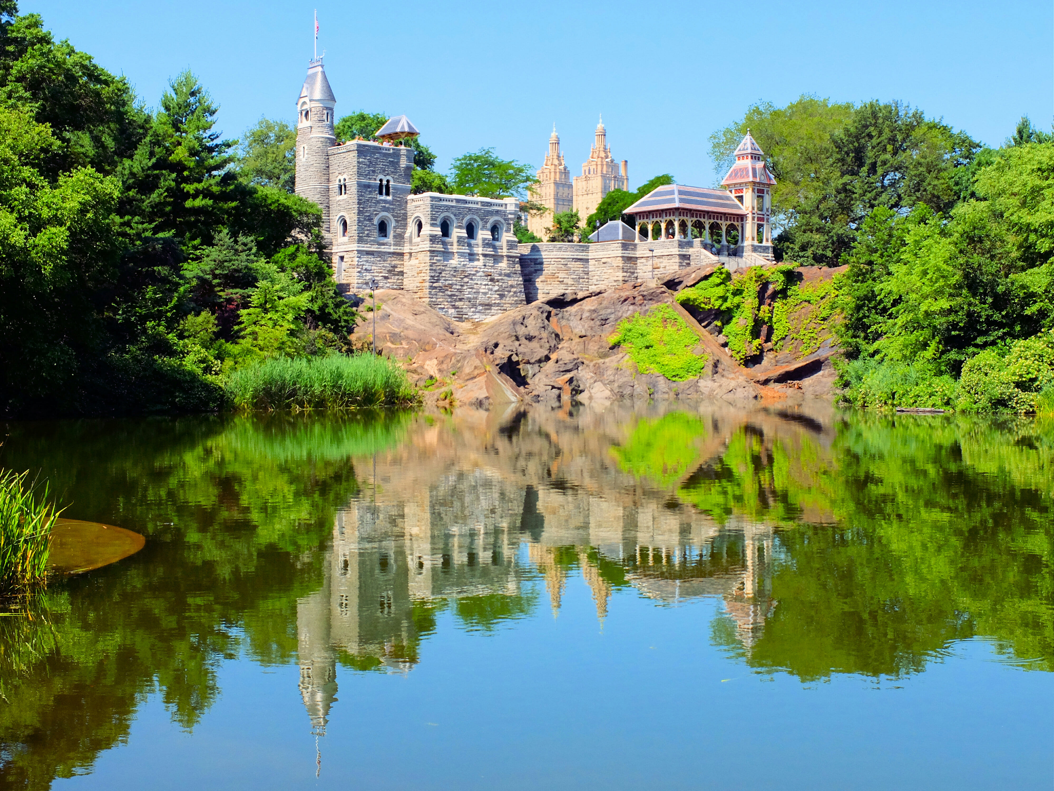 Belvedere Castle in Central Park New York – High Quality Wallpaper