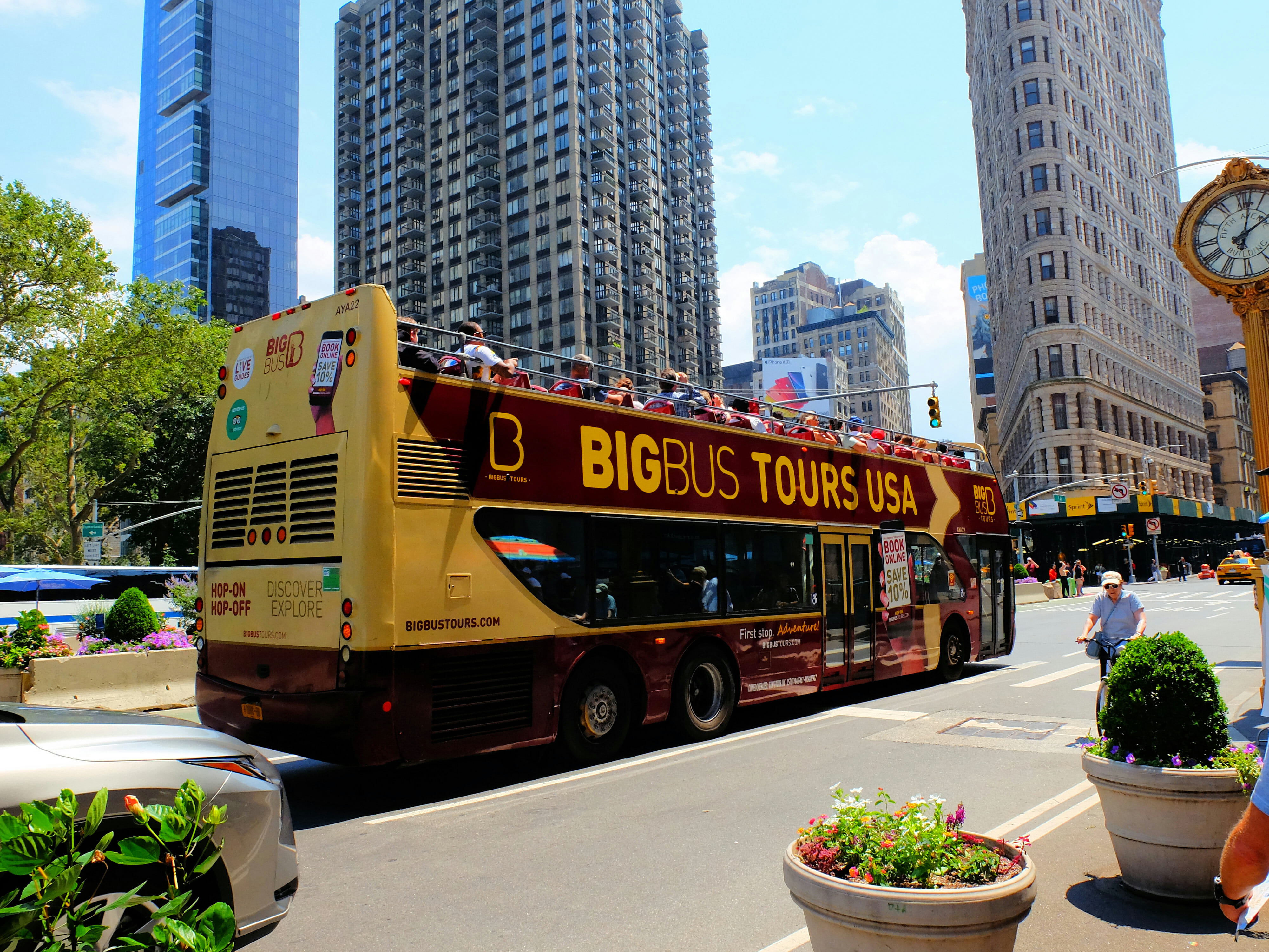 Big Bus Hop on Hop off Bus New York – High Quality Wallpaper
