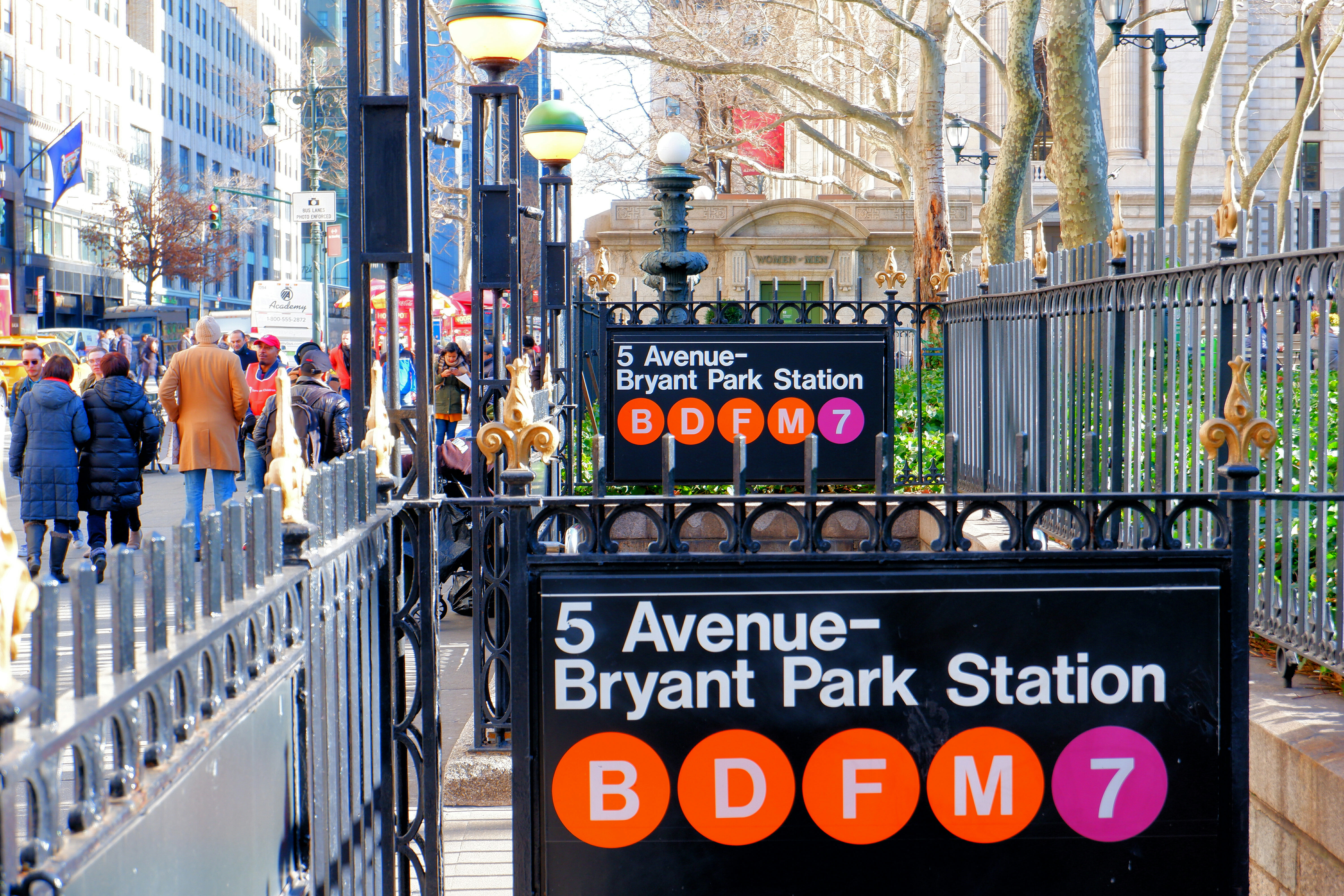 Bryant Park Subway Station – High Quality Wallpaper