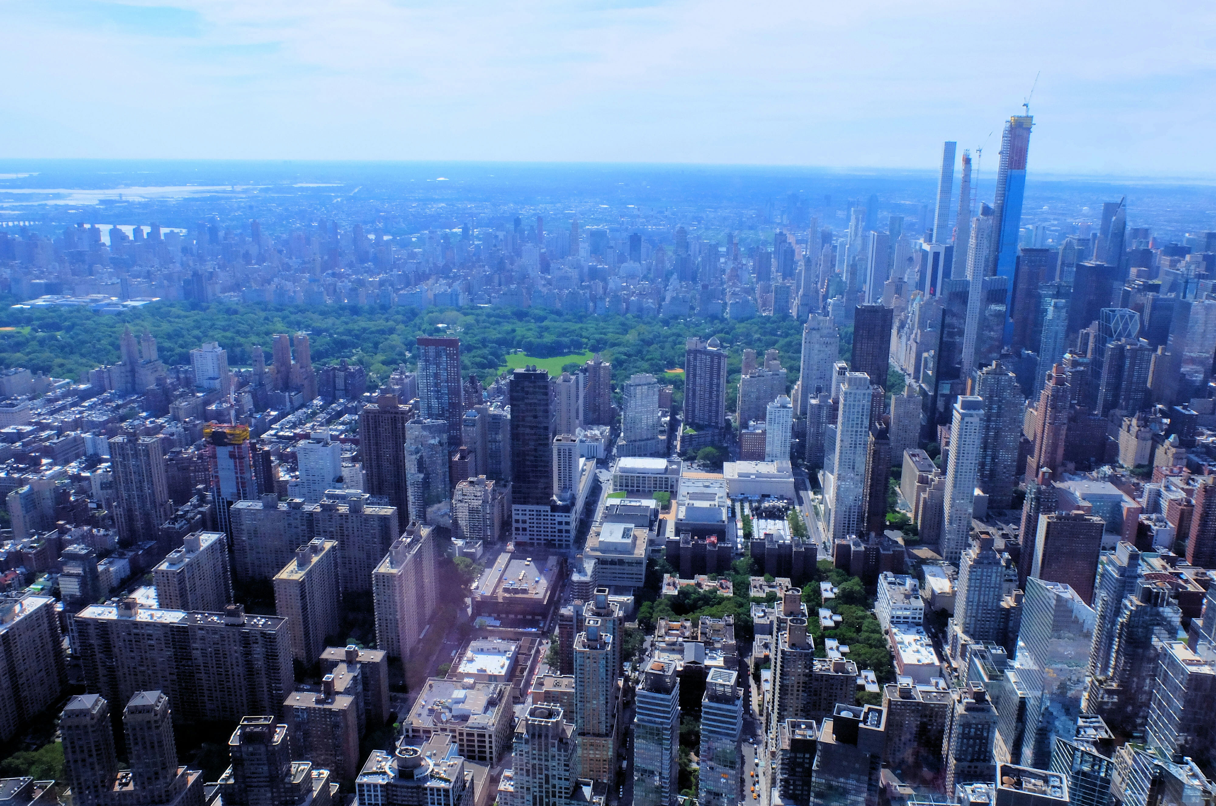 Helicopter Tour in New York – Central Park – High Quality Wallpaper