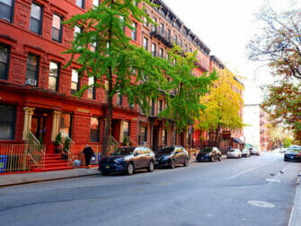 Hell's Kitchen in New York Street