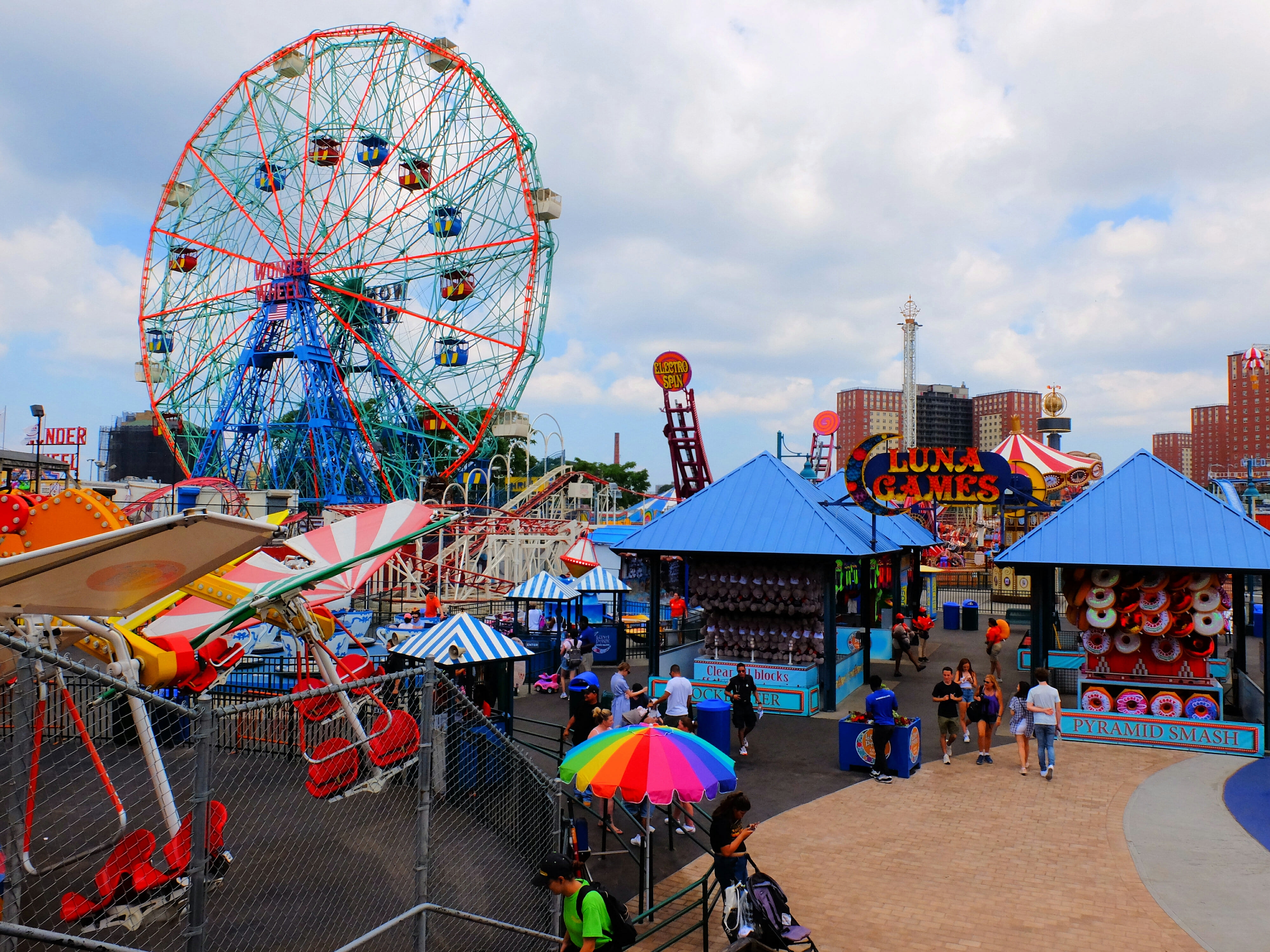 Luna Park on Coney Island – High Quality Wallpaper