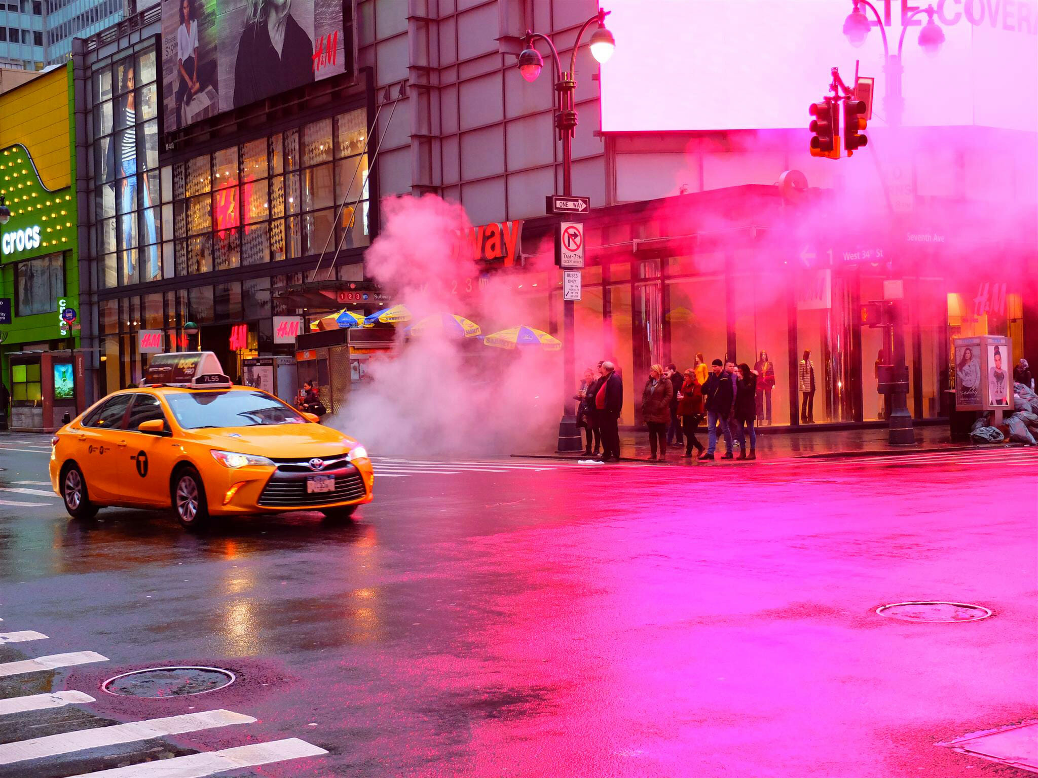 Steam in New York City – High Quality Wallpaper
