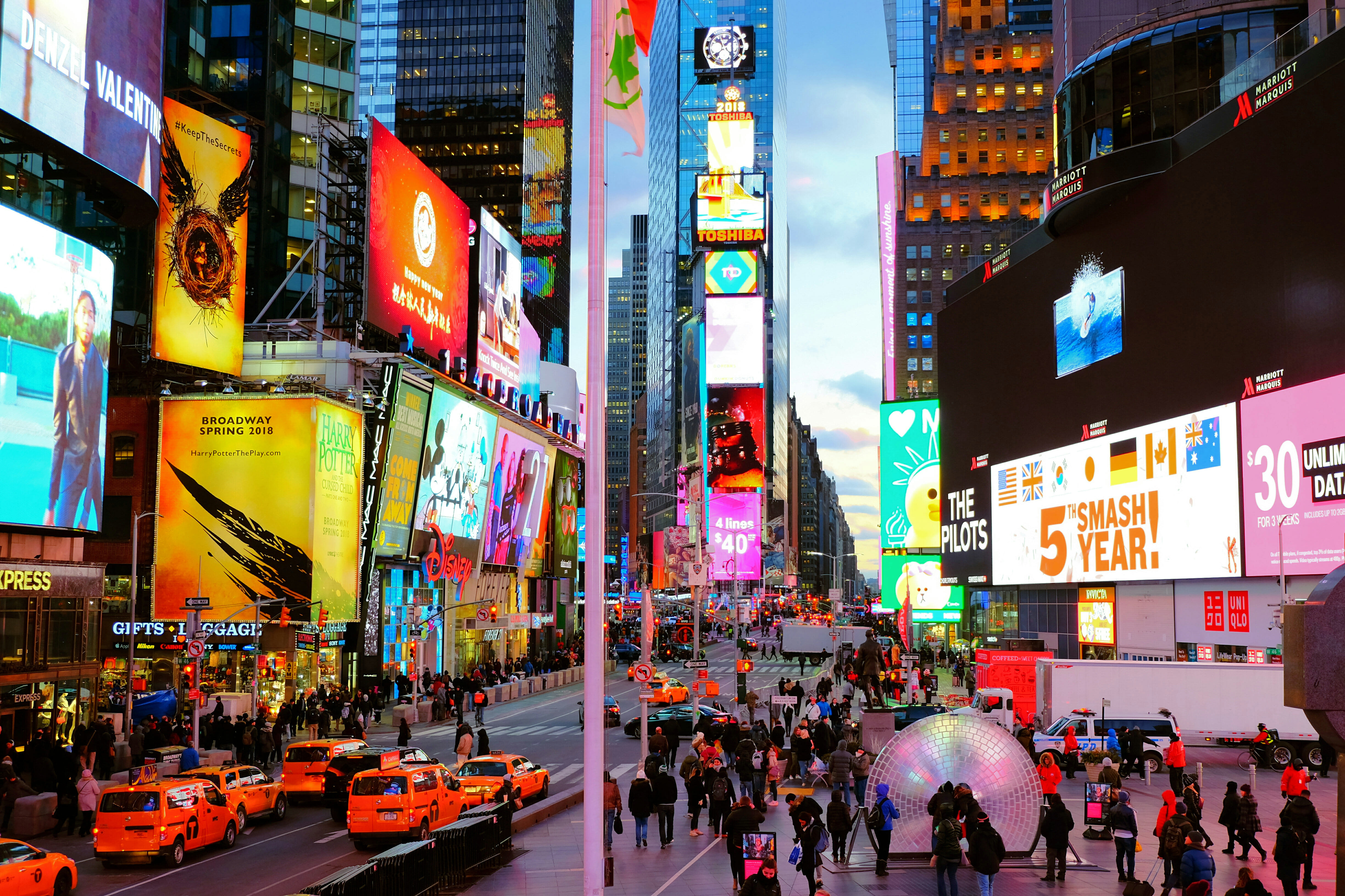 Times Square – High Quality Wallpaper