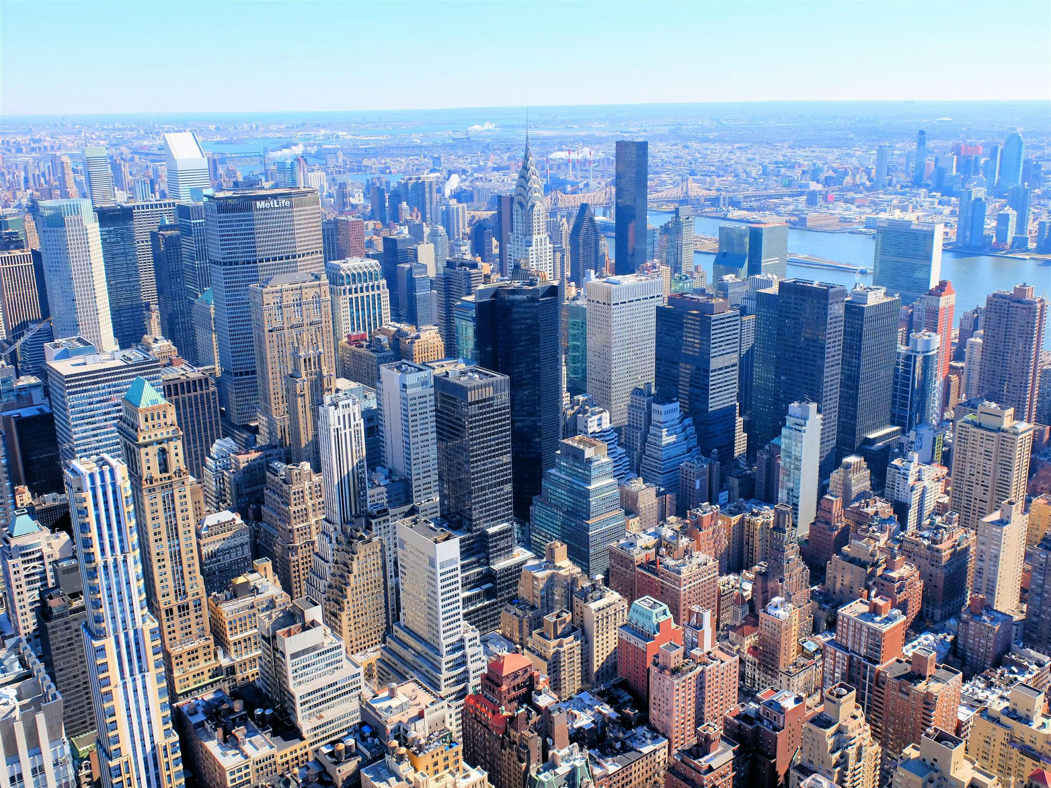 View from Empire State Building – High Quality Wallpaper
