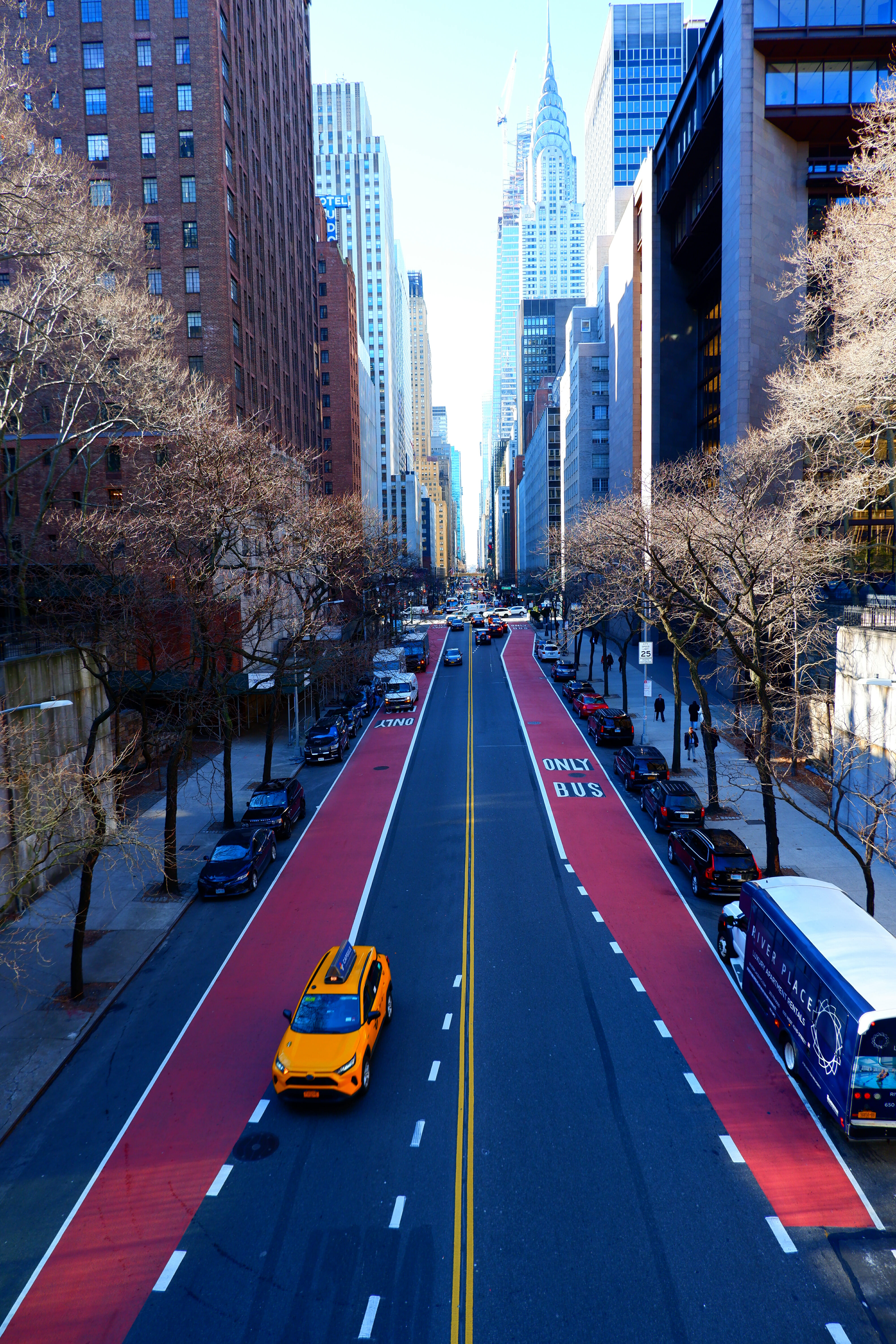 View of 42nd Street from Tudor City – High Quality Wallpaper