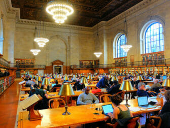 Filming Locations in New York - Public Library