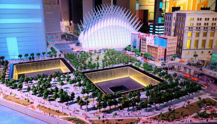 Gulliver's Gate Miniature World - 9/11 Memorial