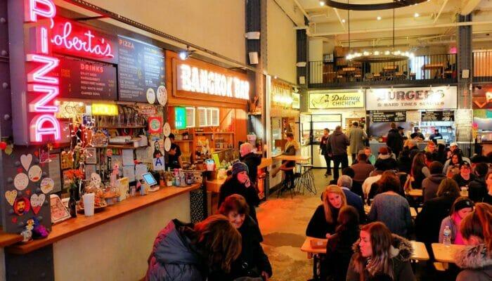 Lunch in New York - Urbanspace Vanderbilt