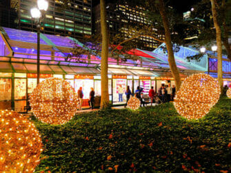 New York Holiday Markets - Bryant Park