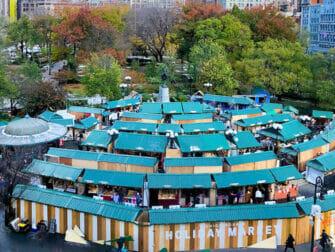 New York Holiday Markets - Union Square