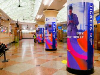 Penn Station in New York NJ Transit