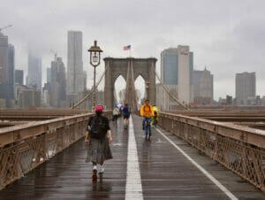 Rain in New York
