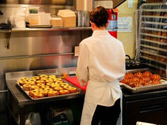 Best Doughnuts in New York - Dominique Ansel Bakery Inside
