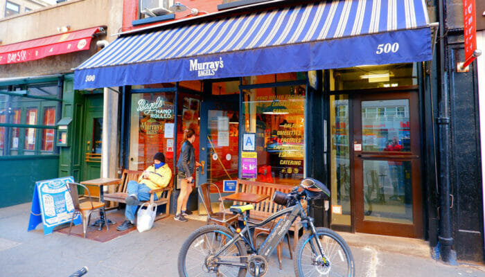 Best Coffee Shops and Bagel Bars in New York - Murray's Bagels