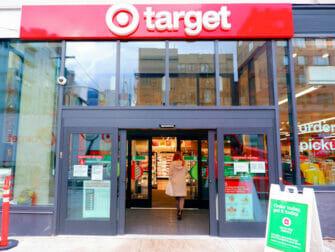 Supermarkets in New York - Target New York Outside