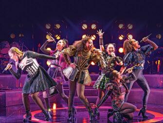 SIX on Broadway Tickets - Cast