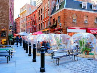 Stone Street in New York